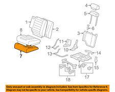 Hummer GM OEM 08-09 H2 Third Row Seat-Foam Cushion Pad Right 19127675