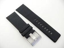 Herren Uhrenarmband Echtleder 27 mm Schwarz für DIESEL Uhren DZ 4182 1657