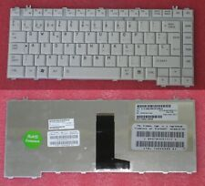 QWERTY KEYBOARD SPANISH TOSHIBA Satellite A200 6037B0021717 V000110830 White
