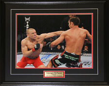 Georges St-Pierre UFC Signed 16x20 frame