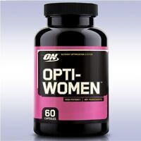 OPTIMUM NUTRITION OPTI-WOMEN (60 CAPSULES) multi-vitamin optiwomen gold standard