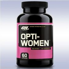 OPTIMUM NUTRITION OPTI-WOMEN (60 CAPSULES) multi-vitamin grape seed optiwomen on