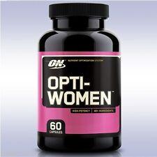 OPTIMUM NUTRITION OPTI-WOMEN (60 CAPSULES) multi-vitamin grape seed optiwomen on