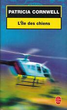 Livre Poche l'île des chiens Patricia Cornwell Calmann-Lévy 2003 book