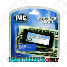 PAC SNI-35 LINE LEVEL ADAPTER HI TO LOW SPEAKER TO RCA