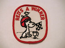 "Vintage NOS ""Red's A Winner"" Alouette Snowmobile Patch"