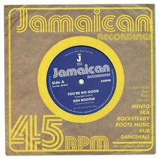 """Ken Boothe - You're No Good / Out Of Order Dub LTD 7"""" NEW £4.99"""