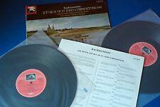 SLS 5130 Rachmaninov Liturgy of St John Chrysostom Milkov HMV 2LP UK ASD 1st Set