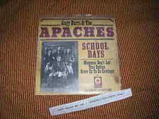 "7"" rock Angy Burri & the APACHES-school Days Gold rec düde Dürst"