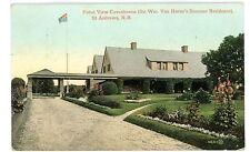 """St Andrews NB -VAN HORNE MANSION """"COVENHOVEN""""- Postcard Canada"""