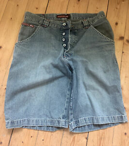 Short schwarz Jeans Quicksilver Kurze Hosen M