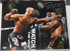 King Mo Signed UFC 16x20 Photo PSA/DNA COA Bellator Picture MMA Muhammed Lawal 4