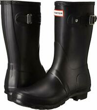 Hunter Women's Original Short Rain Boot, Navy,Size 10