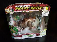 Beast Wars Transformers 10th Anniversary Rhinox BAF Transmutate (sealed)