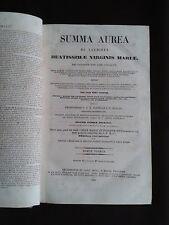 Summa aurea de laudibus beatissimae Virginis Mariae - N°1-13
