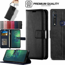 For Motorola Moto G8 Plus G8 Power / Lite Flip Leather Wallet Case Cover + Stand