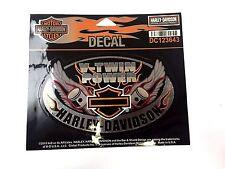 Genuine Harley Davidson Decal Bar & Shield V-Twin Power Decal Sticker DC123643