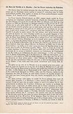 DAVY DE VIRVILLE  Ad et DIZERBO A. / Sur les Fucus vasicoles du Finistère  1943