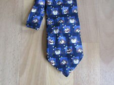 LOONEY Tunes Warner Bros TAZ Tasmanian Devil Cartoon Character Tie
