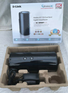 D-Link Dir-868L Wireless AC1750 Dual Band Cloud Router New And Unused Black