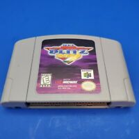 NFL Blitz 2000 (N64) - Cleaned/Tested/Works! Authentic!  Good Condition!