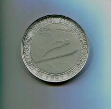 FDJ  Medaille  15.Deutsche Jugend  Ski  Meisterschaft  1967  Ernstthal