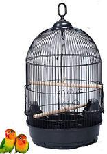 "25"" Round Dome Top Bird Finch Canary Cockatiel Parakeet LoveBird Flight Cage"