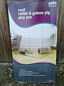 SMALL SQUARE GUINEA PIG PLAY PEN (INDOOR USE ONLY) W:96 x D:96cm x H:50