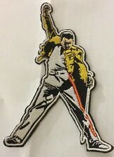 5 INCH QUEENS FREDDIE MERCURY IRON ON PATCH  BUY 2 We SEND THREE