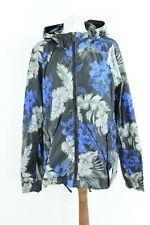 TRU TRUSSARDI BNWT long sleeve spring blue hooded man jacket size IT 52 EU XL