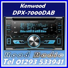 KENWOOD dpx-7000dab CD, DAB Radio, Bluetooth include DAB Antenna