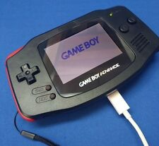 RECHARGEABLE! Nintendo Game Boy Advance GBA AGS 101 Glass Lens Backlit AGB 001