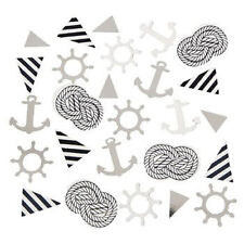 Nautical Baby Shower Confetti Birthday Party Supplies Decorations Ahoy Anchor