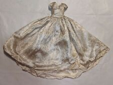 "MADAME ALEXANDER CISSY 20"" Doll GOLD DRESS GOWN Skirt Tag VTG RARE 1950s Queen"