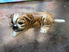 Vintage Goebel W Germany Porcelain Bull Dog 30 502-02 Figurine
