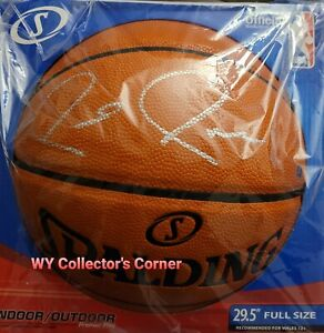 Paul Pierce Signed NBA Basketball (Steiner COA) Boston Celtics