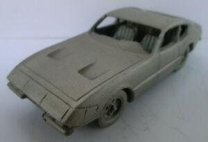 Danbury Mint Ferrari 365 DTB Daytona 1968, Standmodell aus Zinn, ca. 7,6 cm lang