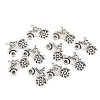tractor Tibetan Silver Bead charms Pendants fit bracelet 10pcs 20x15mm free ship