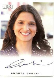 Andrea Gabriel LOST 2010 Rittenhouse certified signed autograph autographed card