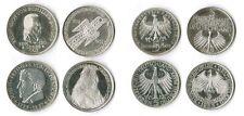 5 Mark les quatre premiers 1952,55,57, république fédérale d'Allemagne complètement vz