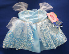 NEW Build-A-Bear CINDERELLA LIMITED EDITION Blue Dress Gown DISNEY Teddy Clothes