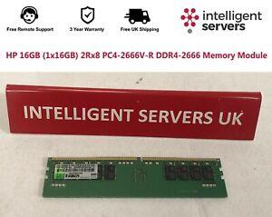 HP 16GB (1x16GB) 2Rx8 PC4-2666V-R DDR4-2666 Memory Module - 835955-B21
