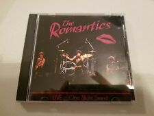 The ROMANTICS Live One Night Stand CD RARE KRB 1996