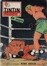 TINTIN 595 BE 1960 CT