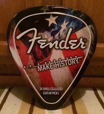 Fender Guitar Pick Metal Strat Pickguard Body Joe Barden Zeppelin USA Amp