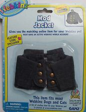 x MOD JACKET pet clothes WEBKINZ CLOTHING New Code Free shipping fits most pets
