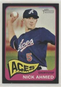 2014 Topps Heritage Minor League Edition Black /105 Nick Ahmed #2