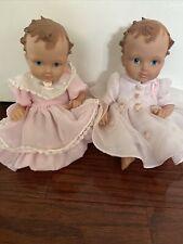 Set Of 2 Vintage 2002 Ashton-Drake Galleries Baby Dolls