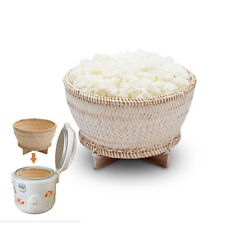 NEW THAI STICKY RICE COOKER STREAMER BAMBOO BASKET FOR ELECTRIC RICE COOKER POT