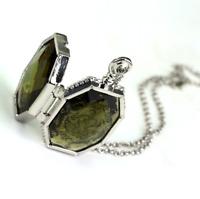 Harry Potter Horcrux Locket - Pendant Necklace, Salazar Slytherin, Voldemort